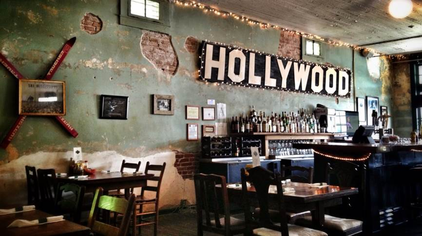 "Hollywood Cafe, where ""Muriel played piano, every Friday..."""