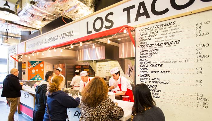 Los Tacos 21, NYC