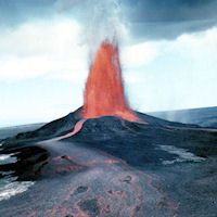 Volcano on Hawaii