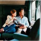 Amtrak couple