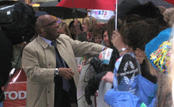 The Day I Stalked Al Roker
