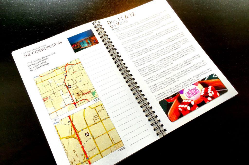 Bon Voyage Road Book page