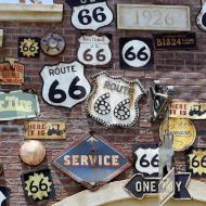 Rte 66 signs on wall.jpg