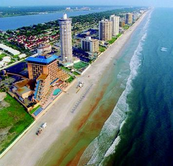 Daytona Beach aerial view