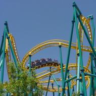 Six Flags Fiesta ride