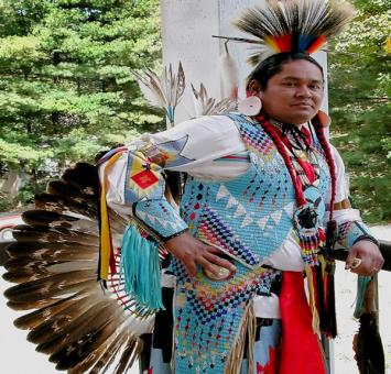 American Indian Dancer