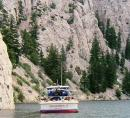 Gates of the Mtns with boat MT