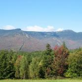 View of Mount Mansfield Stowe VT
