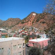 Aerial view of Bisbee