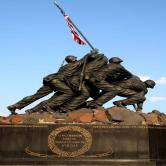 Iwo Jima memorial Arlington