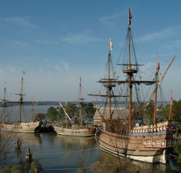 Jamestown settlement VA