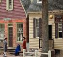 Street scene Colonial Williamsburg VA