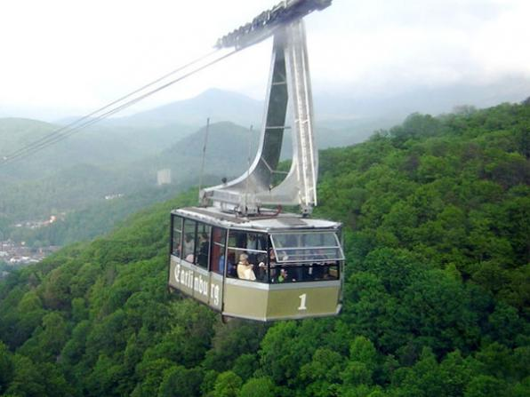Gatlinburg cable car
