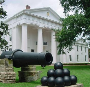 Cannon and balls Little Rock