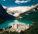 Chateau Lake Louise & lake