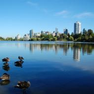 Lost lagoon at Stanley Park