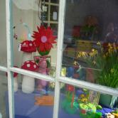 colourful store window