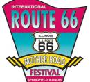 Route 66 festival sign