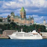 Silversea ext ship Quebec