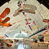 The Smithsonian Udvar-Hazy Air and Space museum