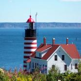 New England ME West Quoddy Head Light
