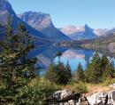 Glacier NP mountain-lake
