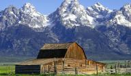WY Grand Tetons and Barn