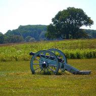 PA Valley forge cannon
