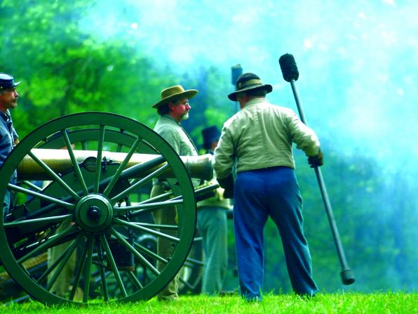 civil war re-enactment, Georgia